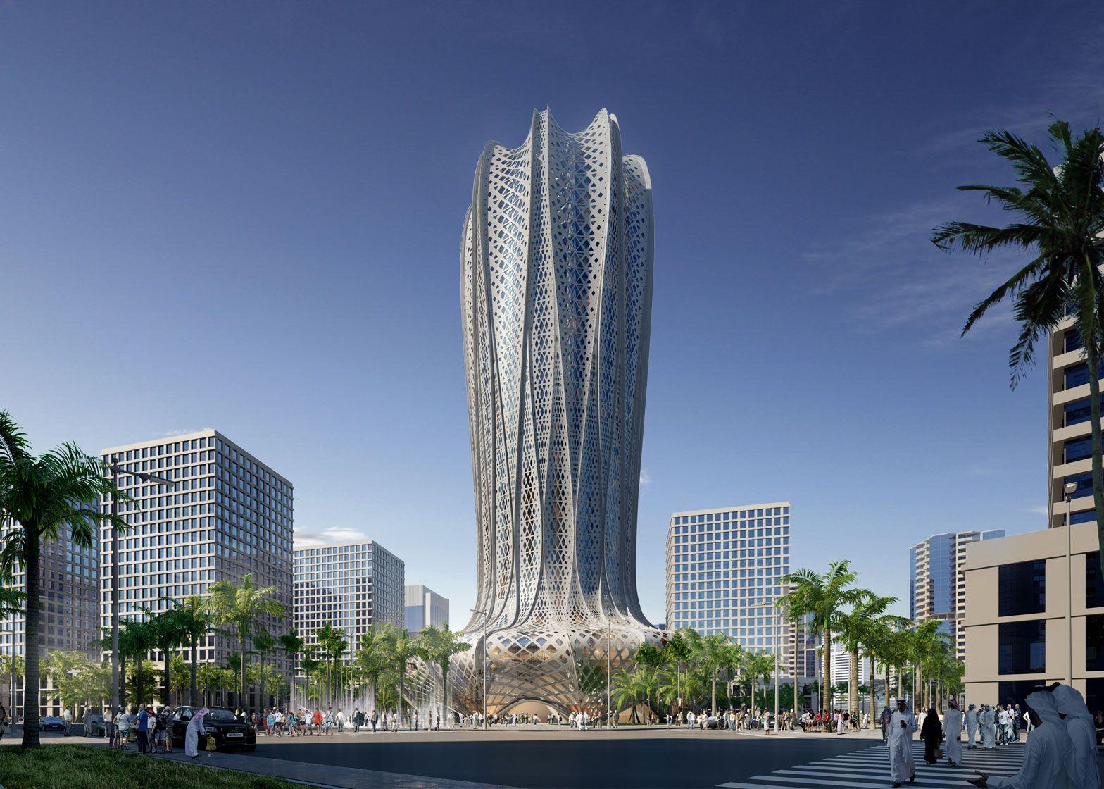 Zaha Hadid Architects to build Qatari hotel based on a flower