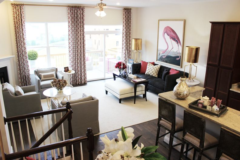 The Carter New Luxury Townhome At Arcadia Fieldstone Http