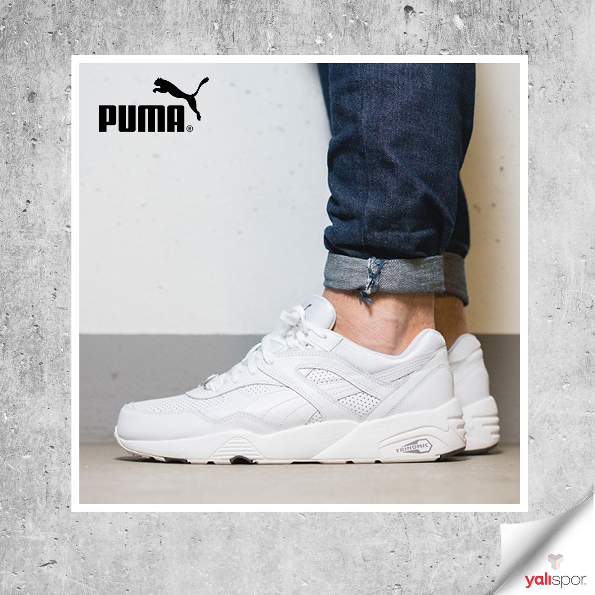 53e41546827 Puma R698 Core Leather farkını Yalispor.com.tr de keşfedin! Ürün Kodumuz