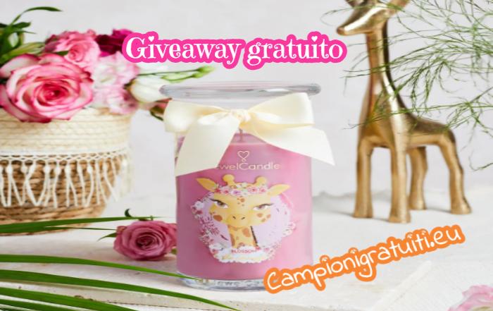 Giveaway JewelCandle vinci una candela profumata