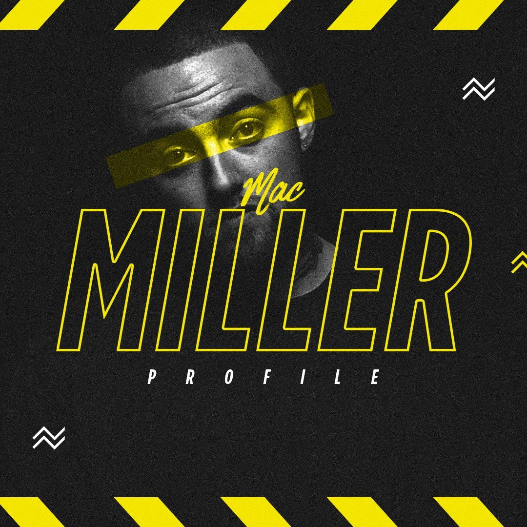 Meech Robinson on Graphic design, Mac miller, Typography