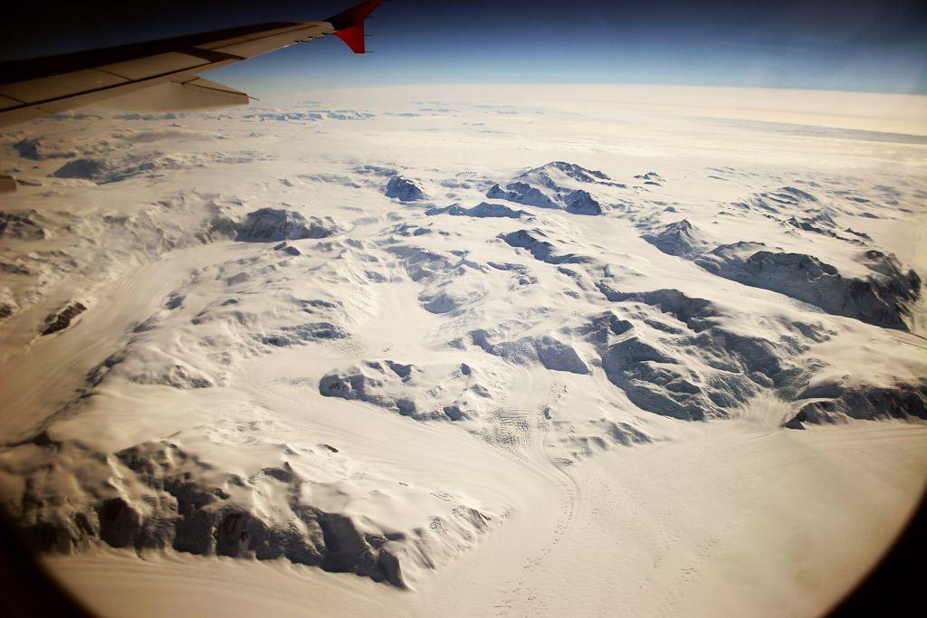 Over Antarctica