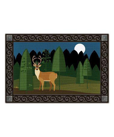 Another great find on #zulily! Woodland Deer Matmate #zulilyfinds