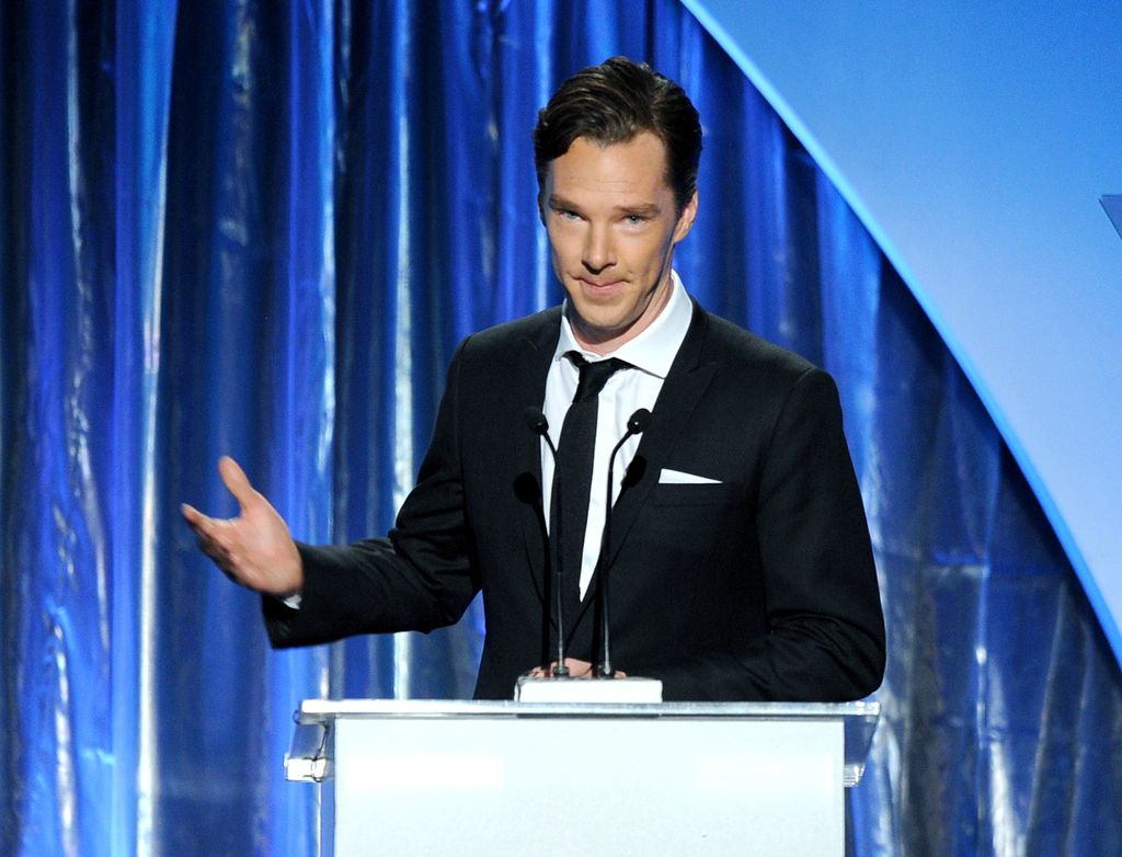 When he did a speech in his suit and just looked so wise and knowledgeable.
