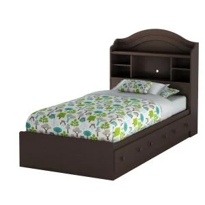 Lits Simples Lits Chambre A Coucher Meubles Rd Twin Storage Bed Bed With Drawers Bookcase Headboard