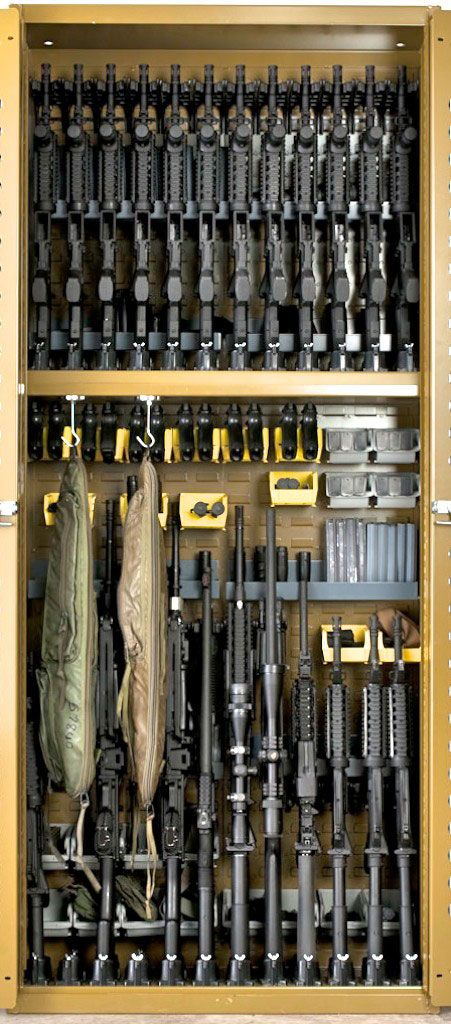Weapon Storage Racks Cabinets Photo