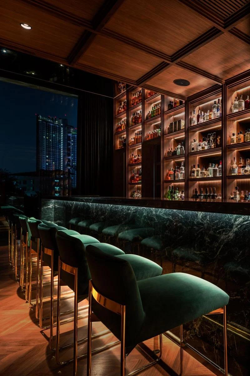 Secret Bar Interior Design by Onion