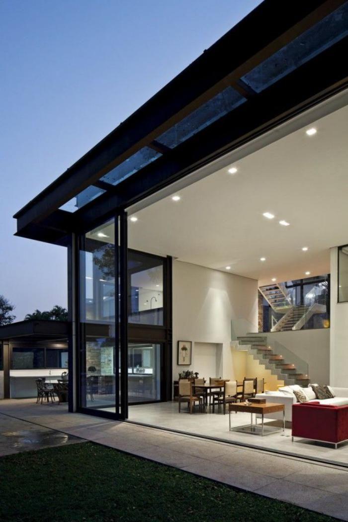 La porte coulissante en verre - gain d\'espace et esthétique moderne ...