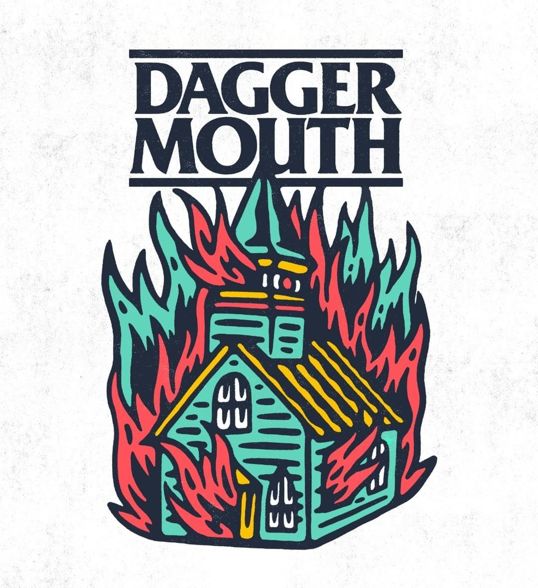 Tshirt design for daggermouth604 poppunk patch band