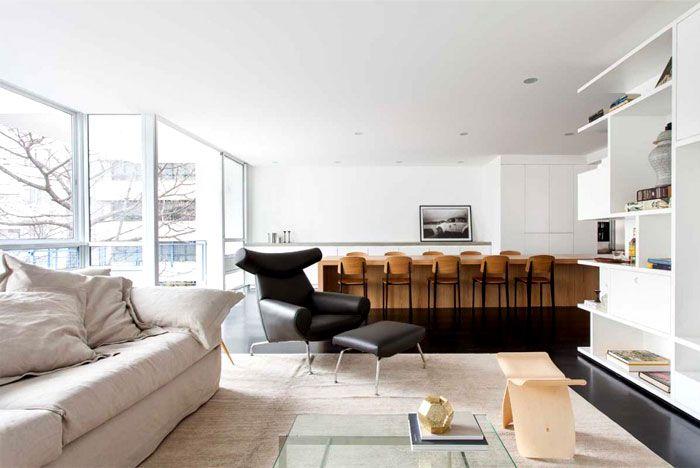 Eleganter Raum Geschaffen Fur Einen Jungen Schauspieler Avec Images Appartement Contemporain Interieur D Appartement Appartement Design