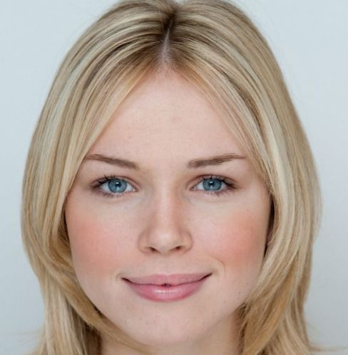 Meet Florence Colgate, Britain's Most beautiful face, blessed with the optimum proportions for beauty