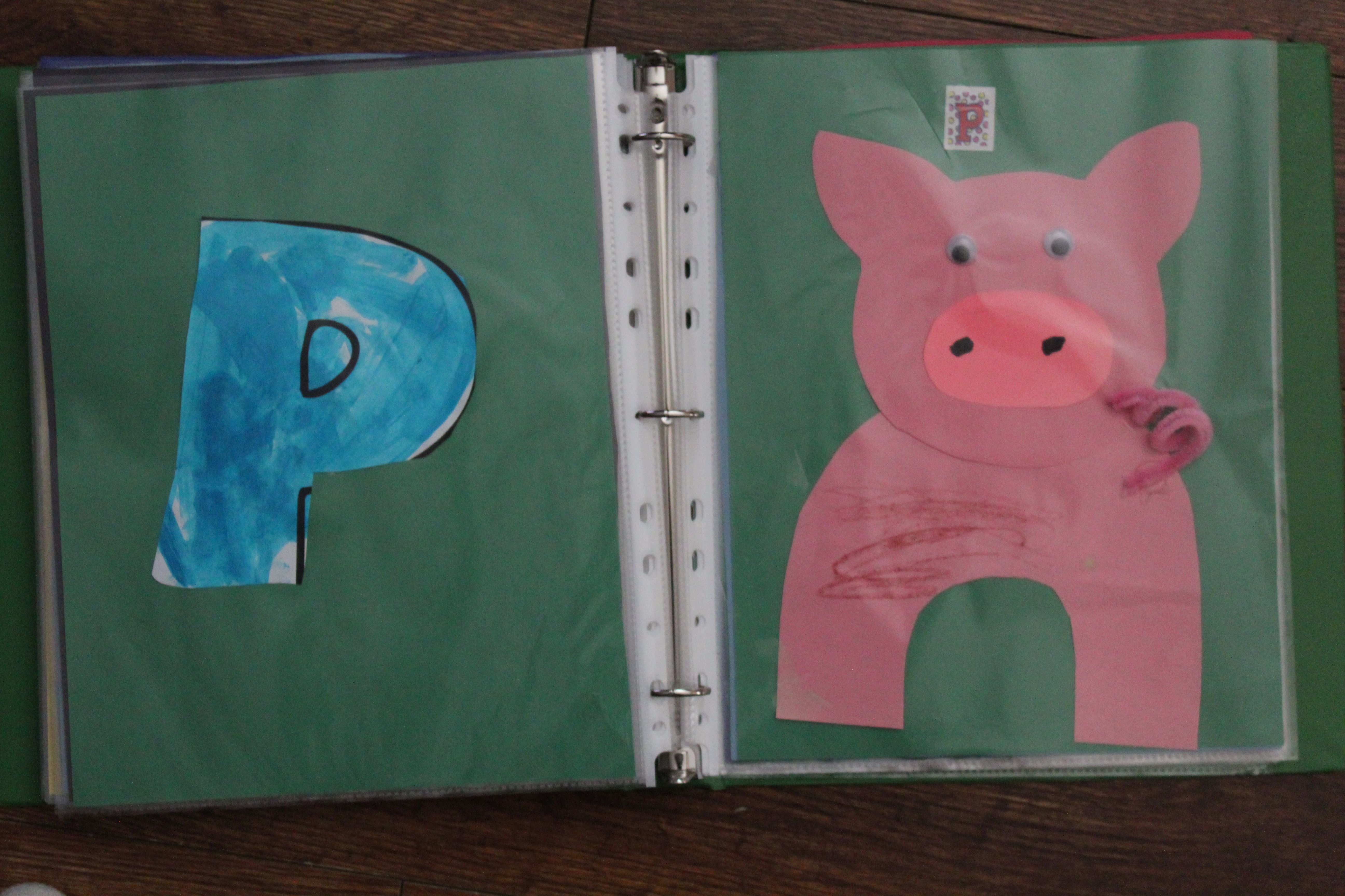 P Is For Pig Alphabet Book