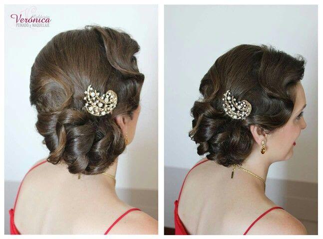 peinado de hermana de novia años 50. | vestidos de los 1950