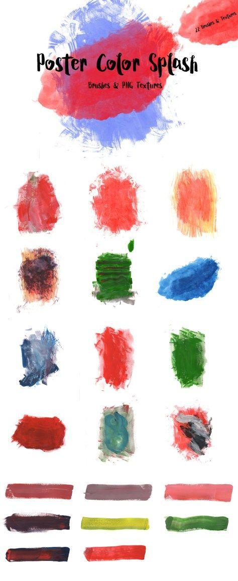 Free Poster Color Splash Textures Color Splash Watercolor Splash Texture