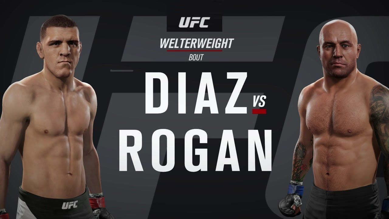 Joe Rogan Watches Himself In The New Ufc Game For The First Time With Hannibal Buress Commentating Worklad Hannibal Buress Joe Rogan Ufc