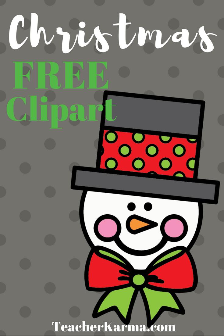 46++ Free christmas clipart for teachers ideas