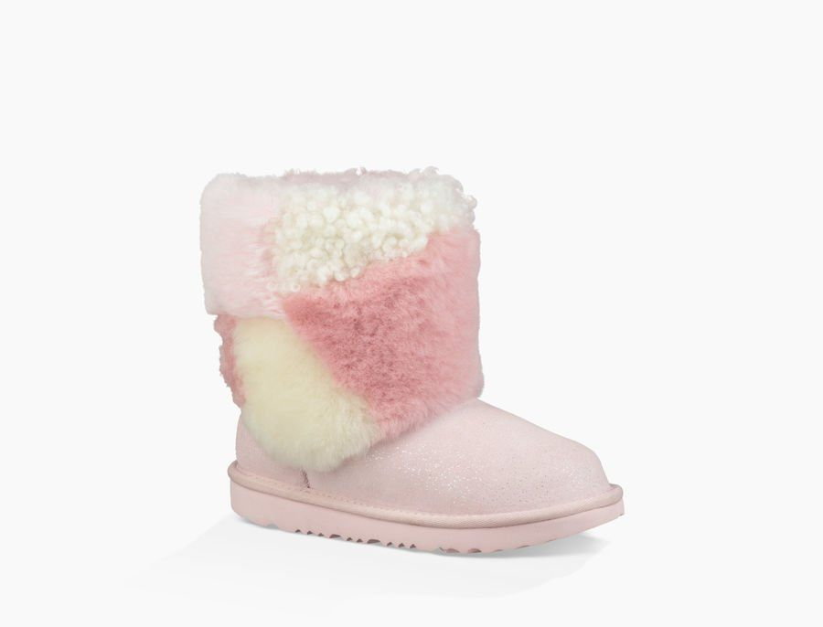 dbdbbb43c58 Toddlers' Share this product Classic Short Patchwork Fluff Boot ...