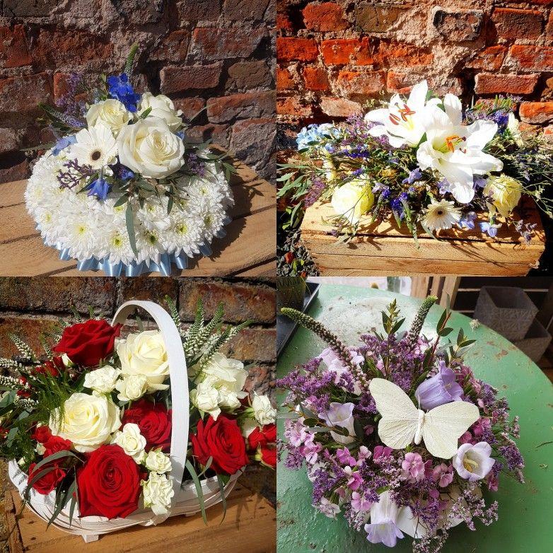 Funeral tributes unique flower arrangements funeral
