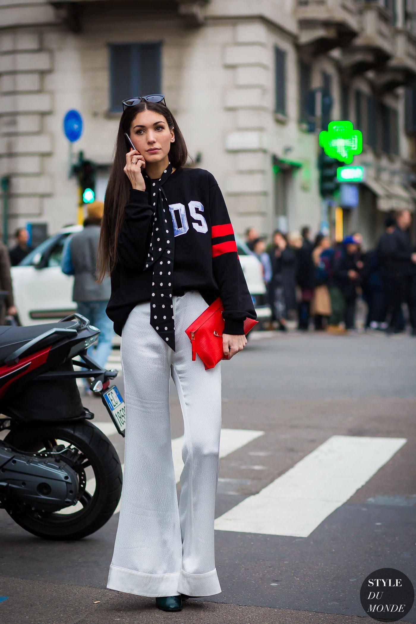 Milan Fashion Week FW 2016 Street Style: Diletta Bonaiuti
