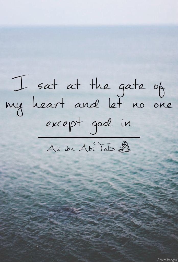 Gate Heart Divine Love God By Imam Ali Pinterest Islam Simple Divine Love Quotes