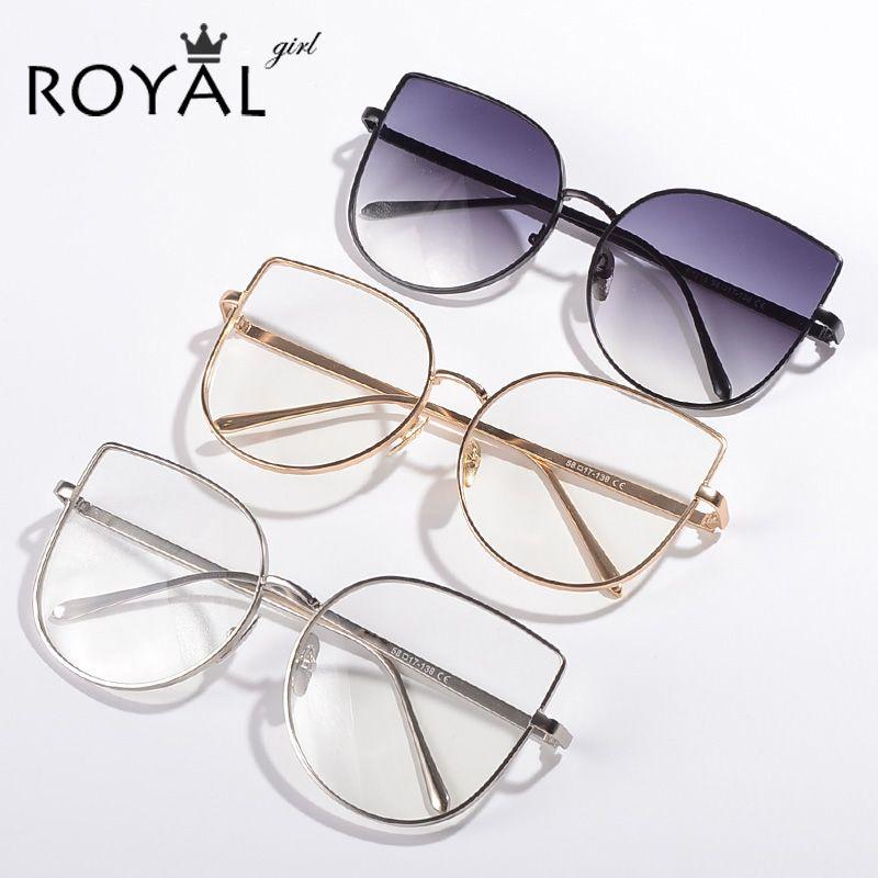 Cheap ROYAL CHICA Nueva marca con Mujeres marcos de anteojos Vintage ...