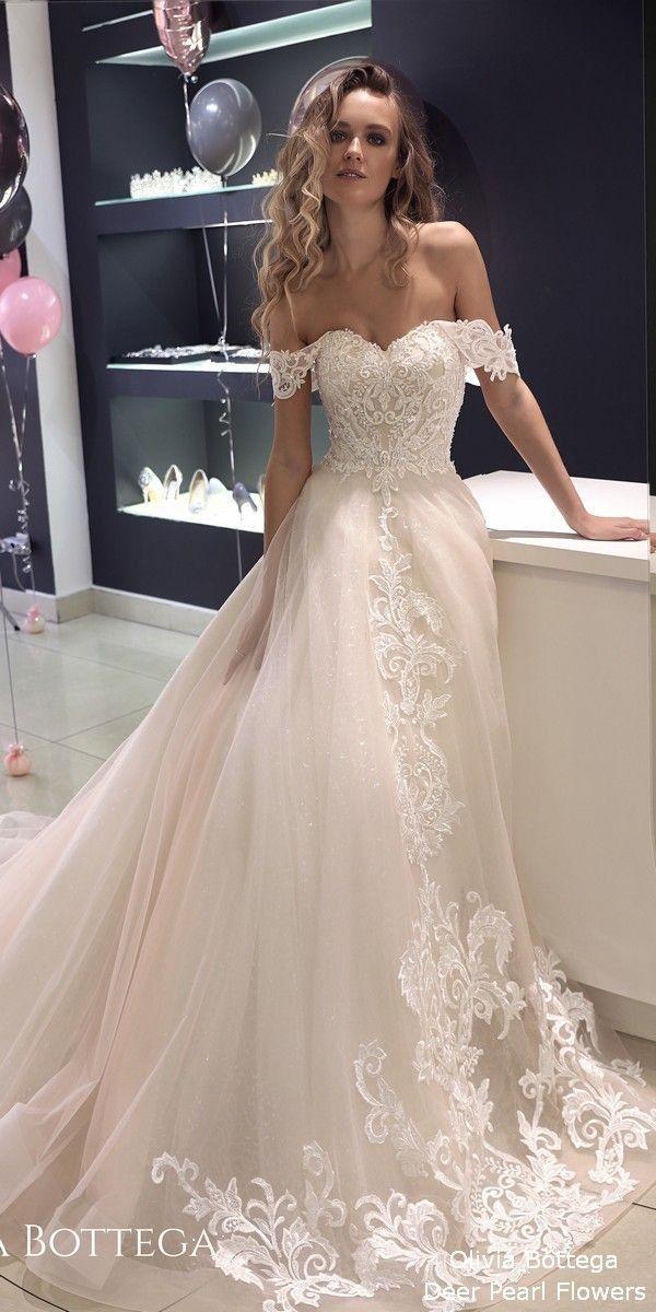 Steal Find Discounted Designer Clothing Therealreal Com Designer Fashion Nyfw Ootd Off Shoulder Wedding Dress White Bridal Dresses Long Wedding Dresses