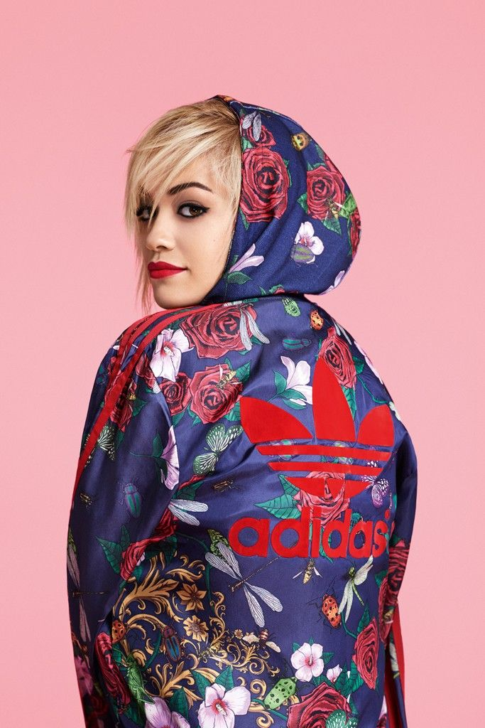 1236500ff7e90 Rita Ora Teams Up With Adidas | Fashion | Rita ora adidas, Adidas ...