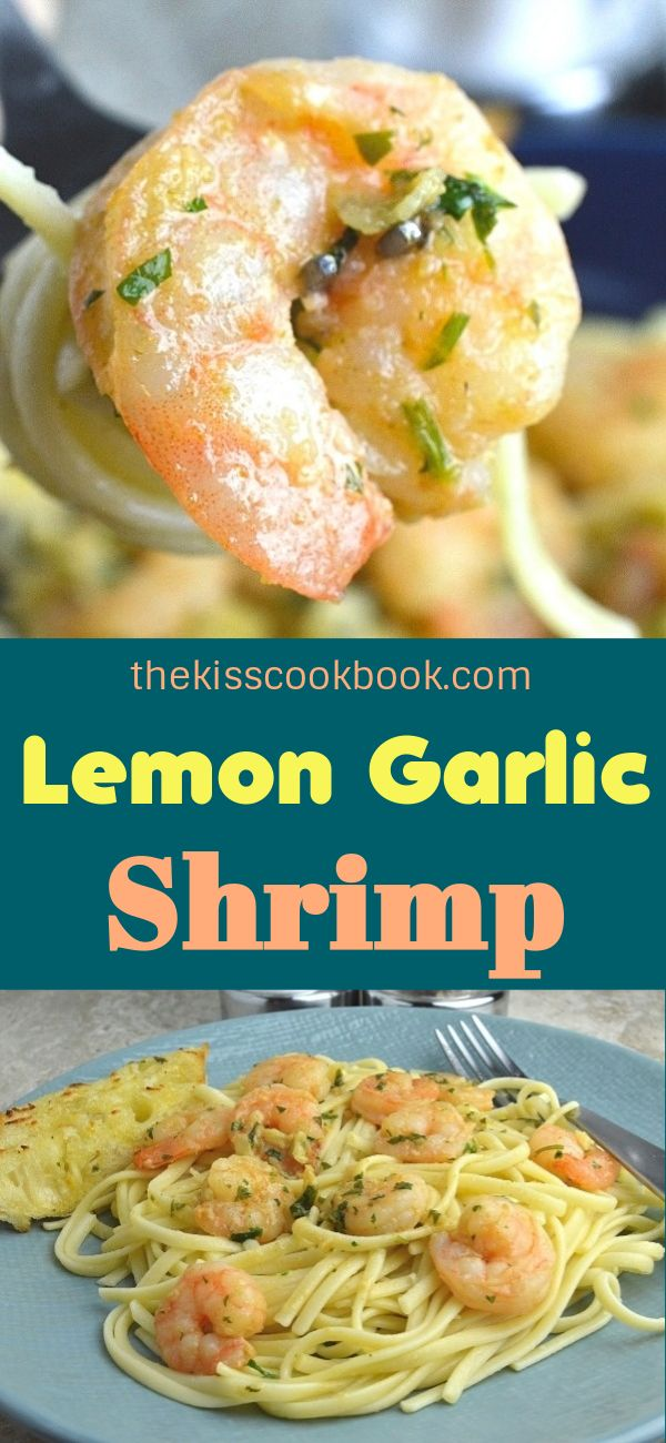 Lemon Garlic Shrimp #garlicshrimprecipes