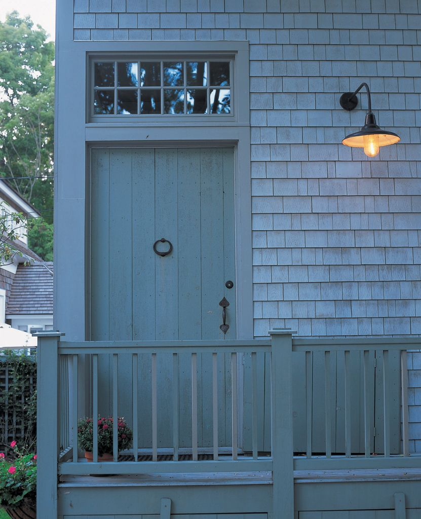 "Simple Front Doors: ""The Modest Detailing Of The Front Entry -- With Simple"
