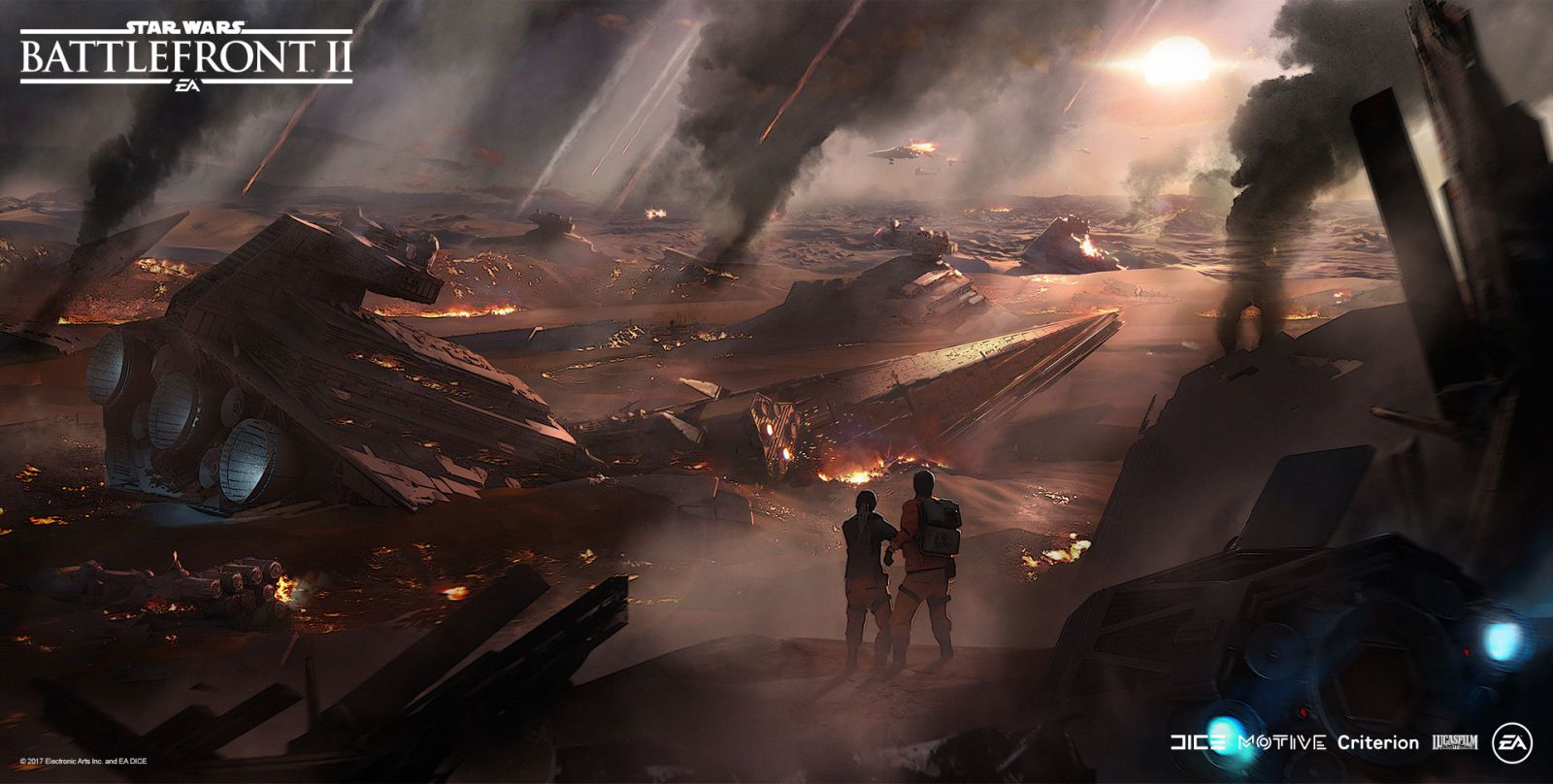 The Art Of Star Wars Battlefront Ii Star Wars Battlefront Concept Art World Star Wars Poster