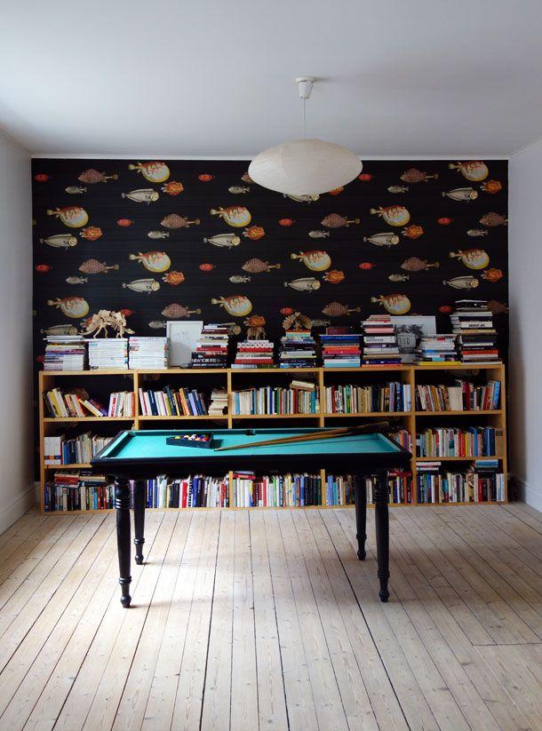 Fornasetti Acquario Wallpaper At David Report Head Office With