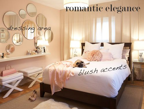 romantic bedroom - rearrange to have layout like this?