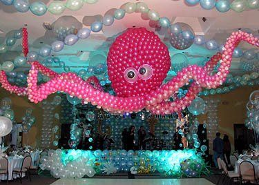 Everything You Couldn't find about Balloons: August 2008 Under the sea party