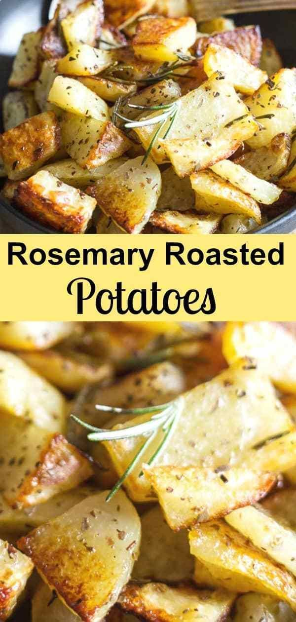 Rosemary Roasted Potatoes  Perfectly Seasoned Roasted Potatoes Rosemary Roasted Potatoes are a delicious and easy potato recipe A few simple ingredients make these roaste...