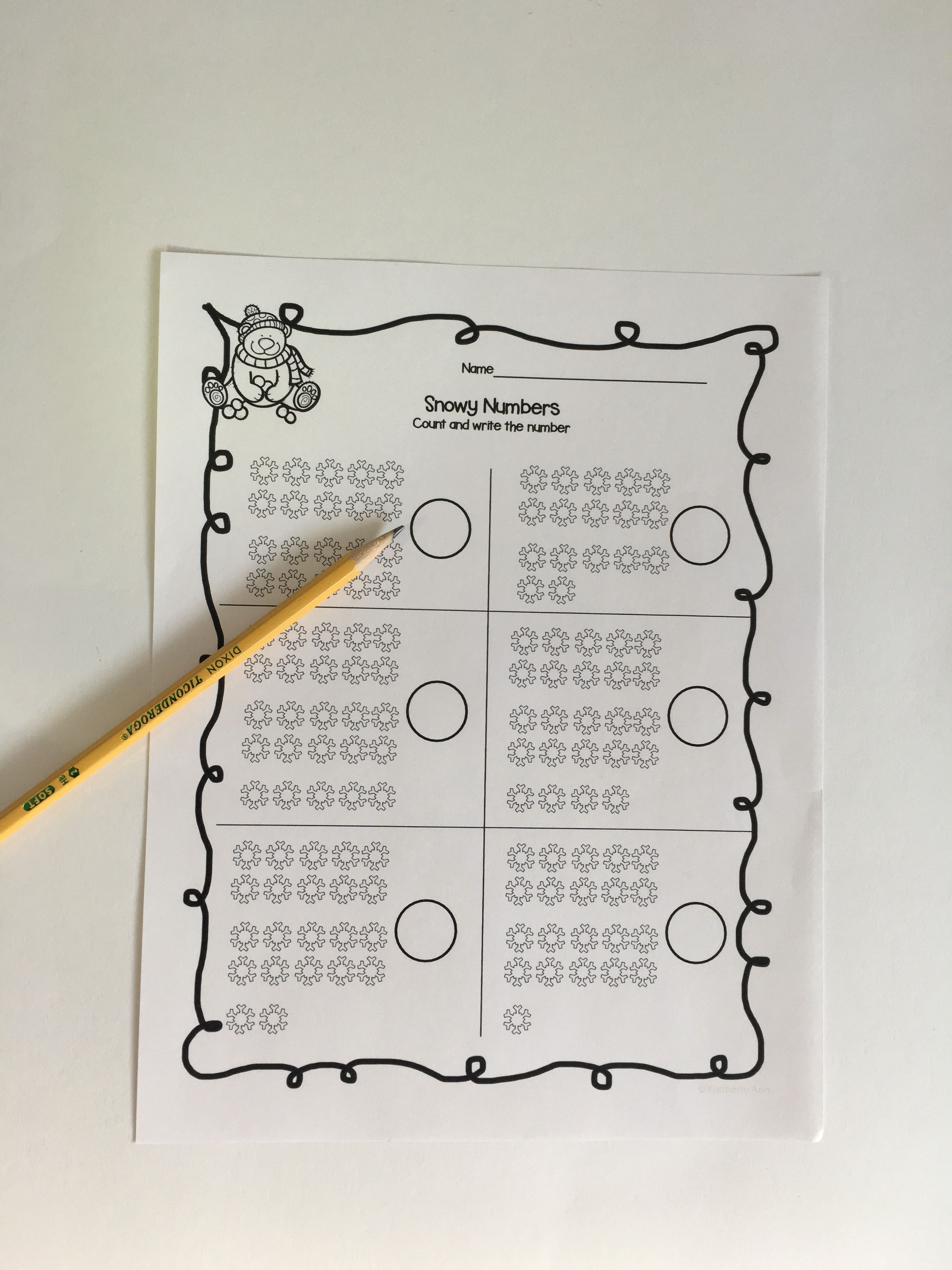 Print And Learn Bundle Worksheets For The Year