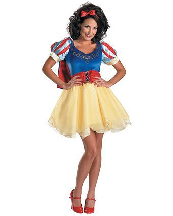 Lady\u0027s Disney\u0027s Sassy Snow White Prestige Costume - Disney Womens - princess halloween costume ideas