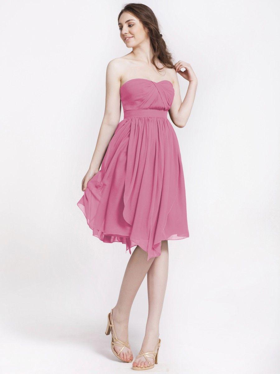 Multi-wear Chiffon Bridesmaid Dress | Plus and Petite sizes ...