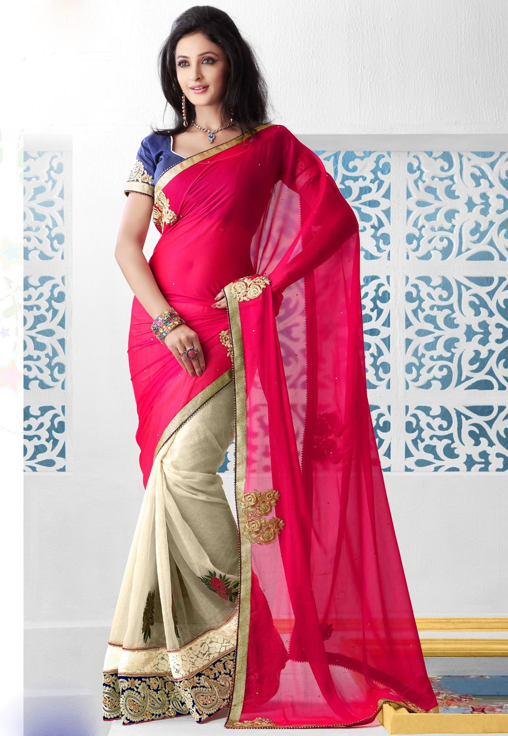 Pink Silk Saree You may have the MONEY but do you have