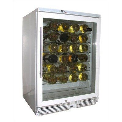 Vt 58 White Wine Cooler With Front Venting By Vinotemp 852 42 Vt Wc58gnv W10 Features Approx Bot Built In Wine Cooler White Wine Cooler Wine Refrigerator