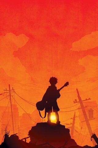 Use Of Color N Character Position Anime Wallpaper Manga Anim