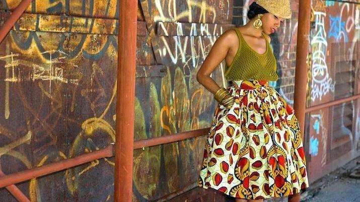 Chic African clothing Jinaki Sharufa Jinaki-Labo-Ethnik-P