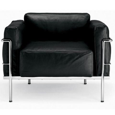 Le Corbusier Grand Confort Soft Lounge Chair Lc3
