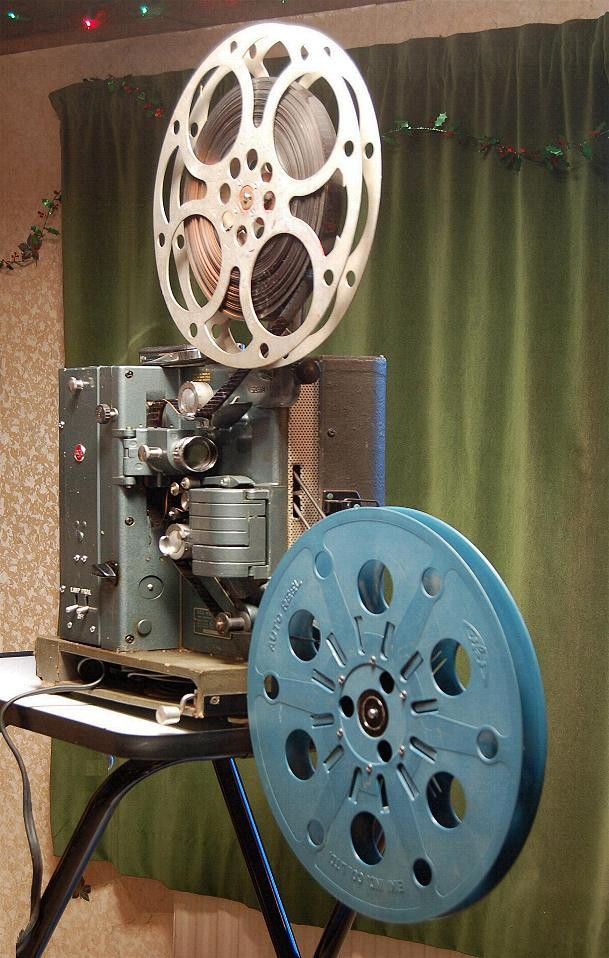 16mm Reel Movie Projectors: RCA 400 16mm Film Projector. A Local Office Was Upgrading
