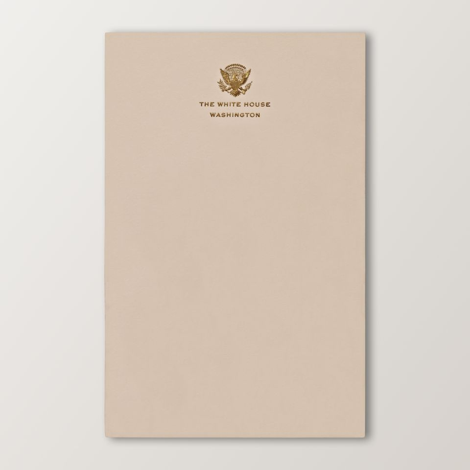 official white house stationery