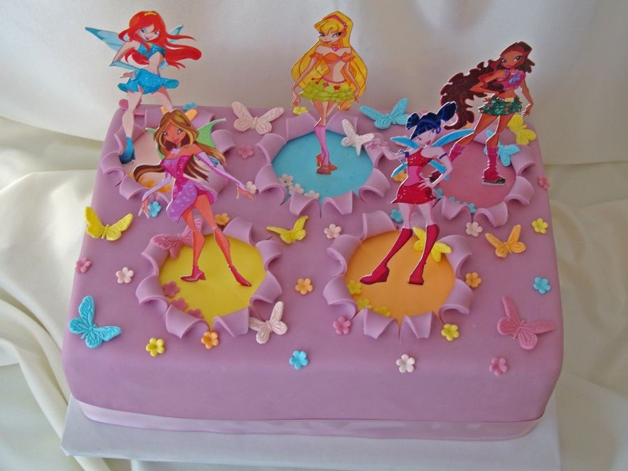 торт с днем рождения винкс картинки мама, особенно