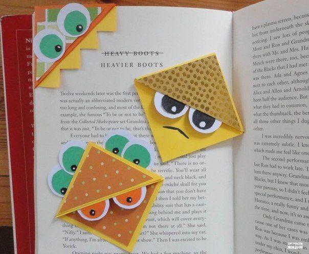 Как сделать уголки для книг