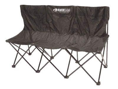 Kwik Goal 9b903 Folding Soccer Bench 3 Seater Wag