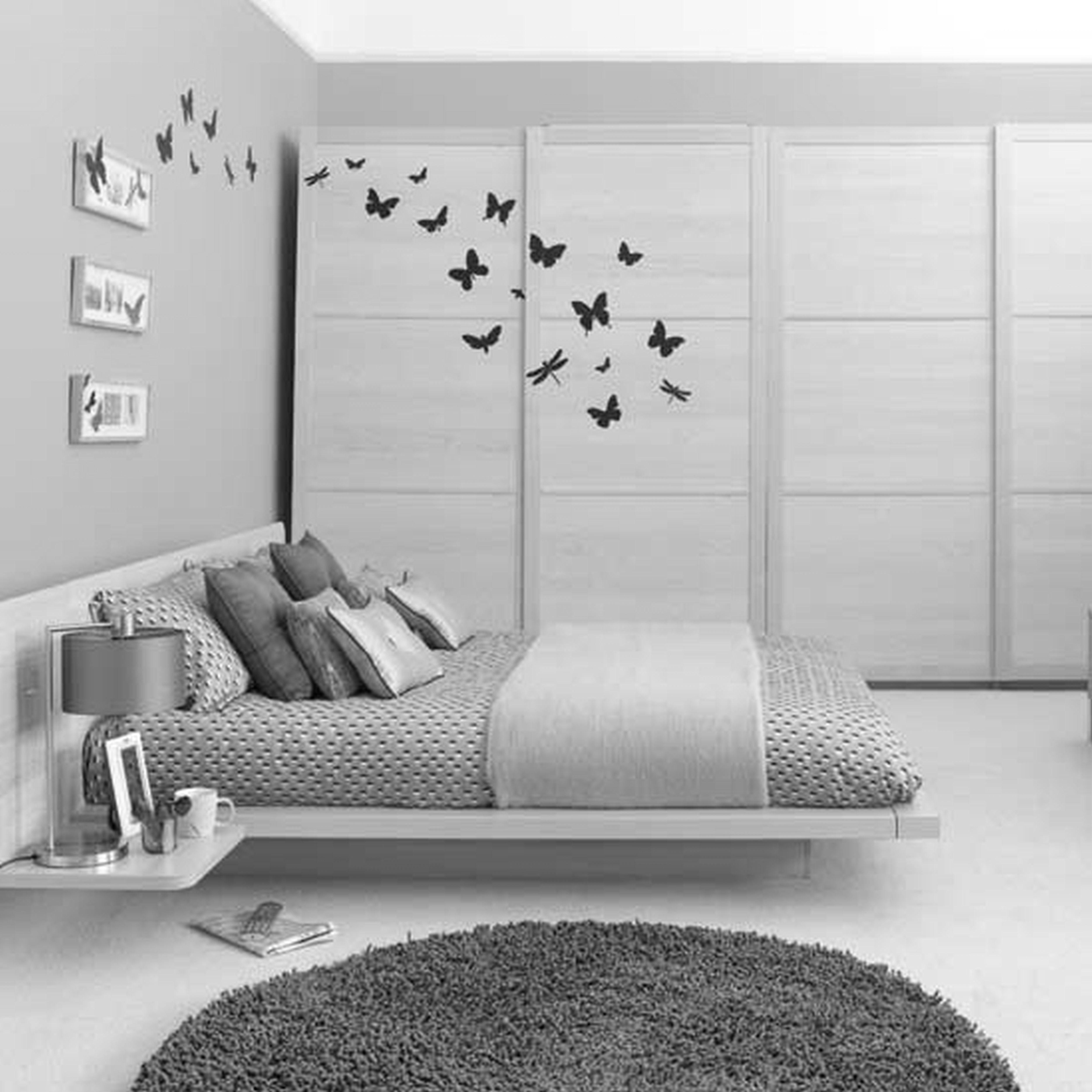 Weiß Schlafzimmer Weißes Bett Blatt Weiß Stoff Bettrahmen