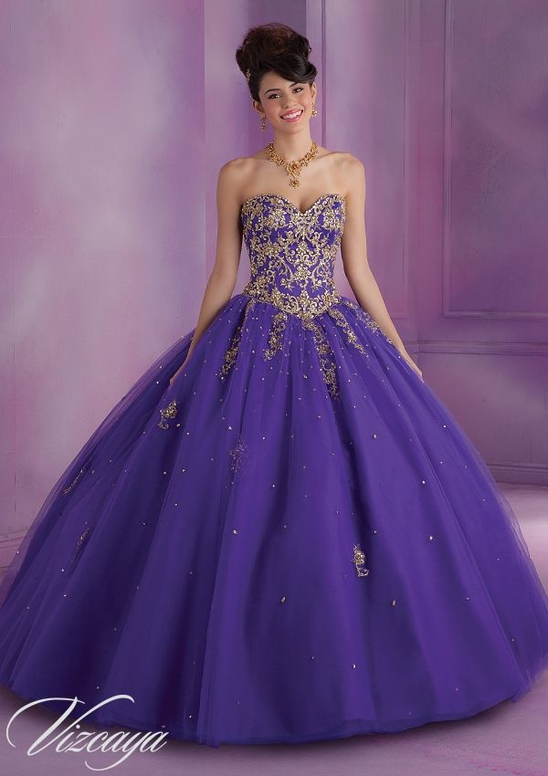 Quinceanera Dress From Vizcaya By Mori Lee Dress Style 89015 ...