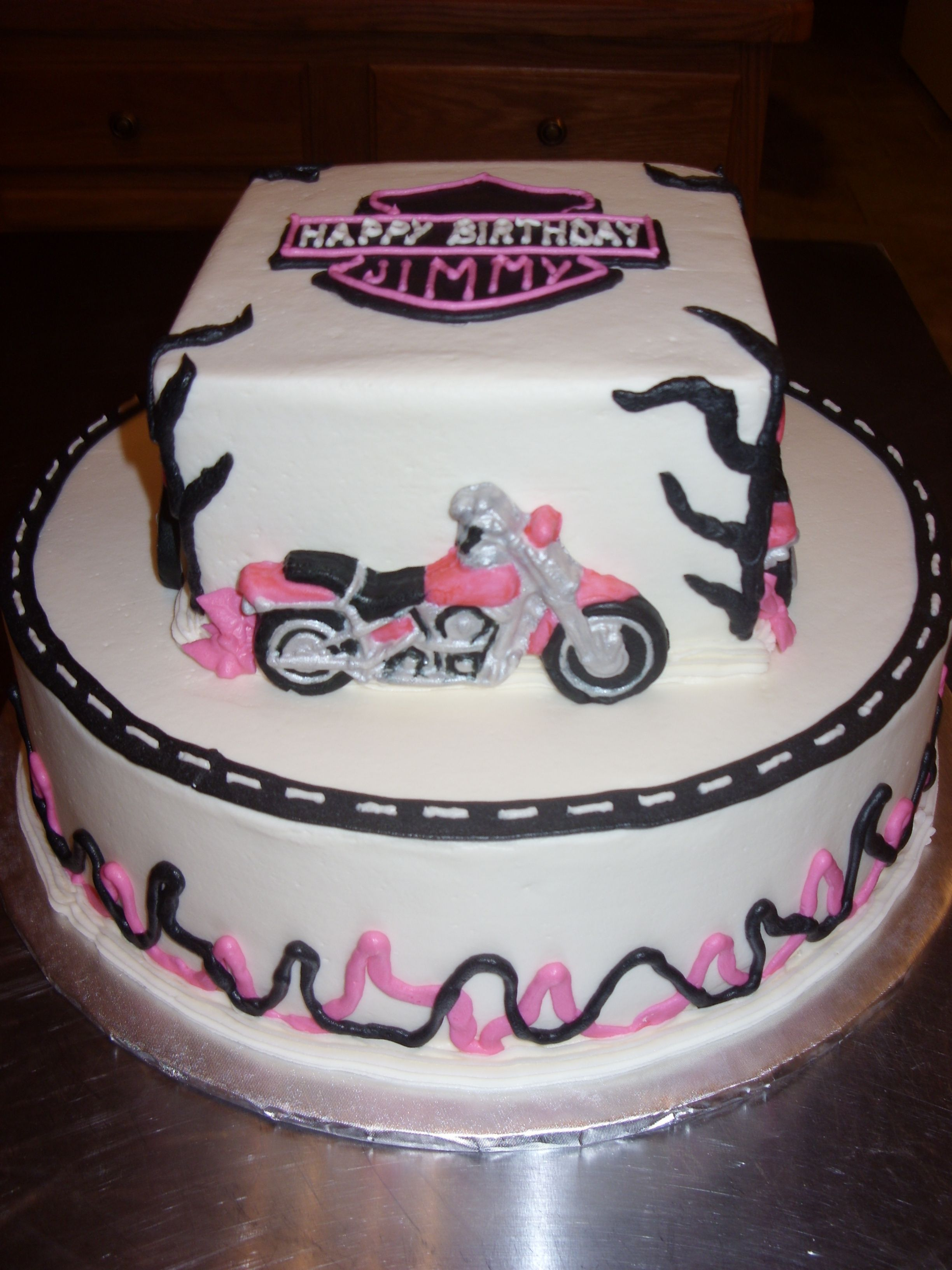 Pictures Of Motorcycle Cakes Celebration Cakes With Images